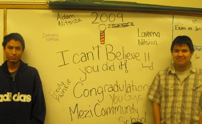 The Mezi Community School congratulates the team.
