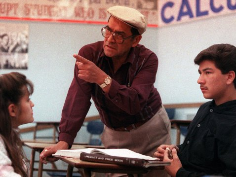 Jaime Escalante and his students