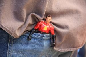 Josh's superhero