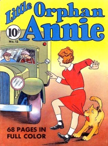 little orphan annie (4 color 012) 00 cover 1